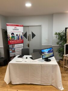 Explaining our managed broadband services at the Platinum Property Partners event